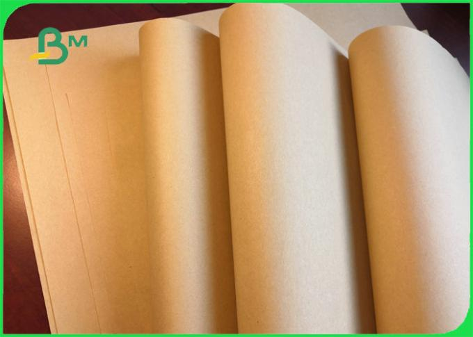 FSC Certified 70gsm 80gsm Brown Craft Paper For Shopping Bags Good Toughness