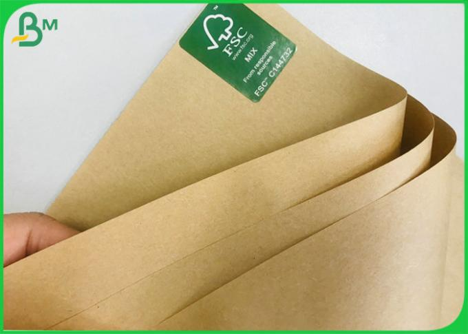 Paper Food Grade Containers  Natural kraft paper 50gram to 400gram Roll