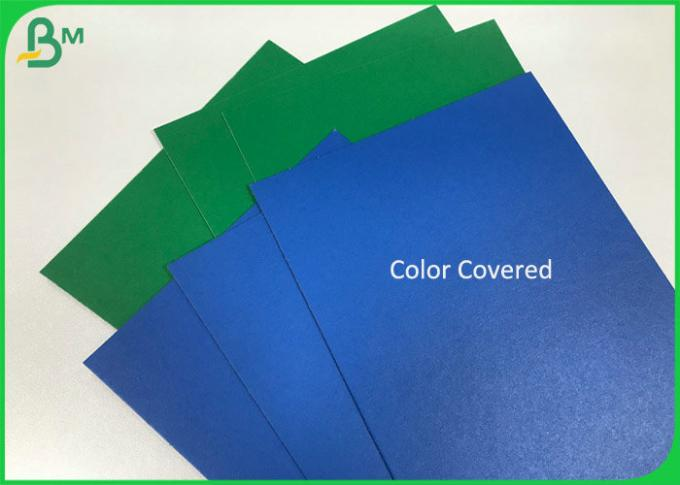 Single side Color Cover Coated Grey Back 1.2mm 2.5mm Duplex Straw Board Sheets